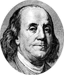 Benjamin Franklin portrait