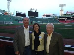 Bob Mahoney, Robin Sheakley and Rob Sibcy