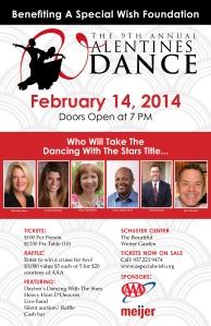 Valentines Dance poster 2014