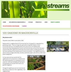 Sidestreams