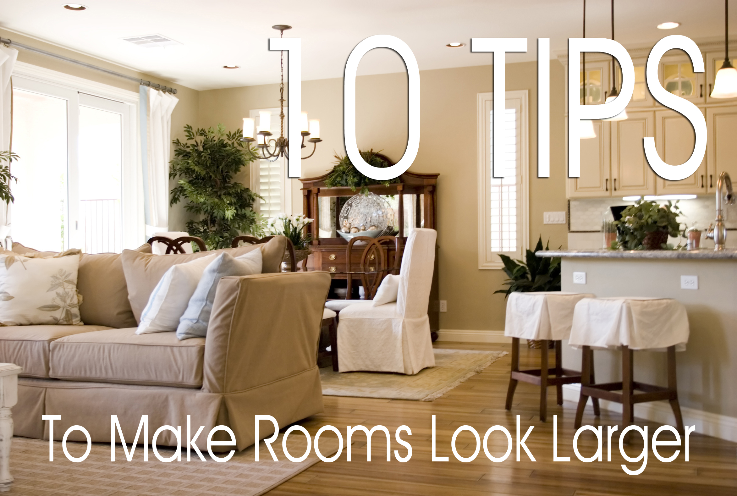 How to make small rooms look larger sibcy cline blog - How to make a small space look bigger ...