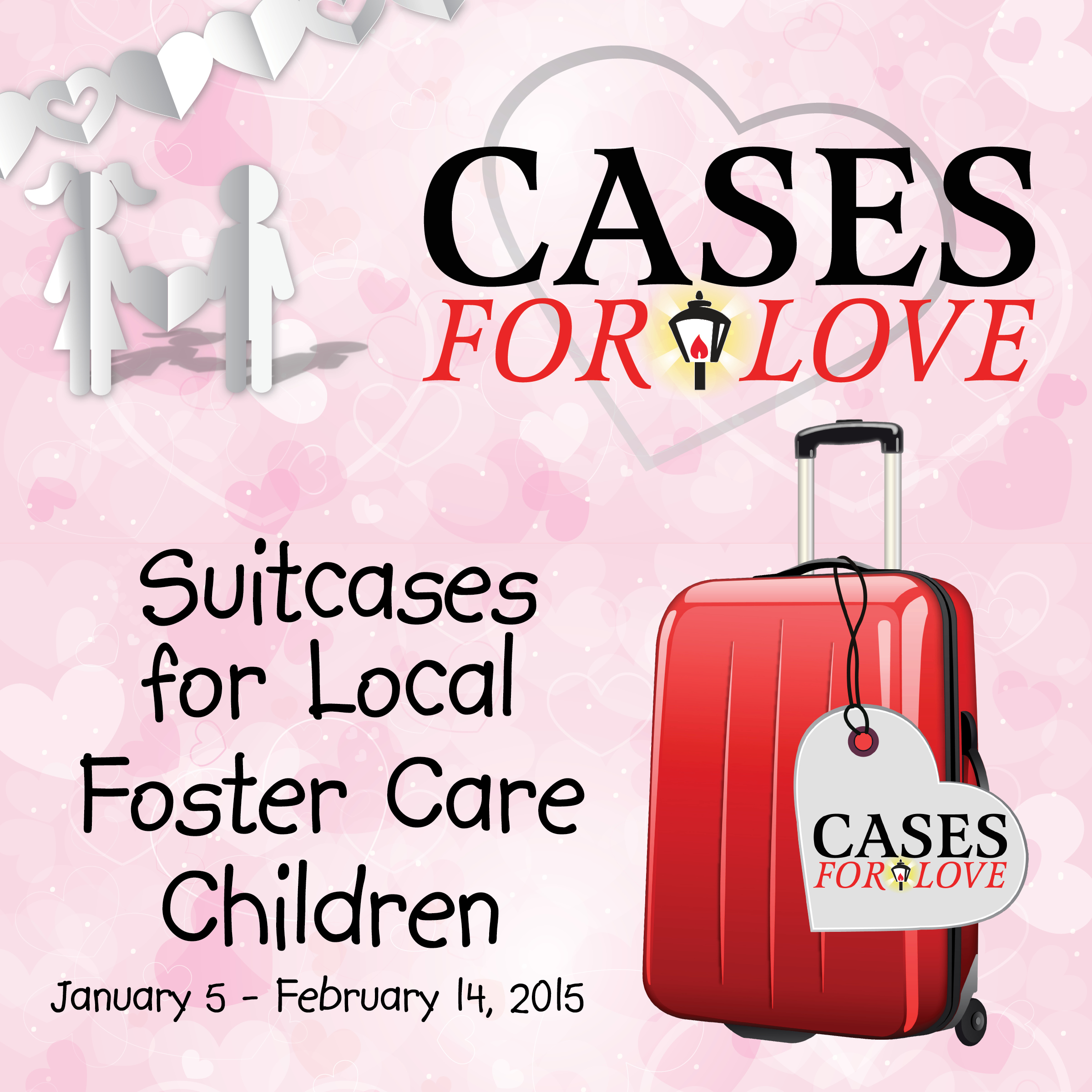 Cases For Love Collects 5 500 Suitcases For Area Foster