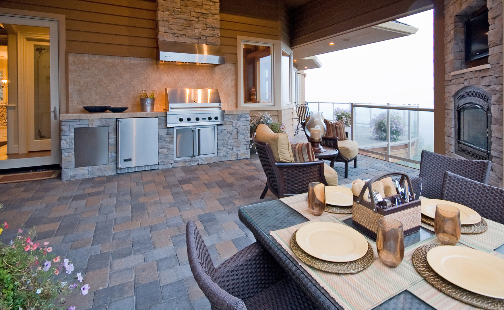 Ideas for Fantastic Outdoor Living Spaces | Sibcy Cline Blog on Outdoor Kitchen Living Spaces id=63490