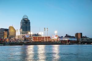 Great American Ballpark stadium in Cincinnati, Ohio
