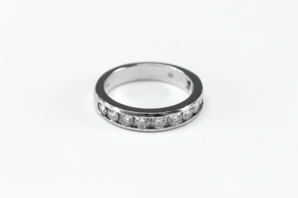 1 k diamond plat ring