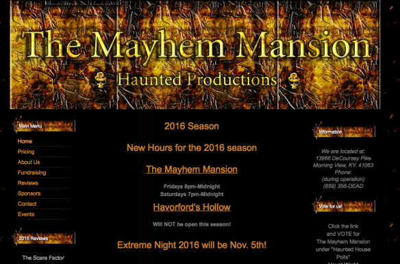 mayhemmansion