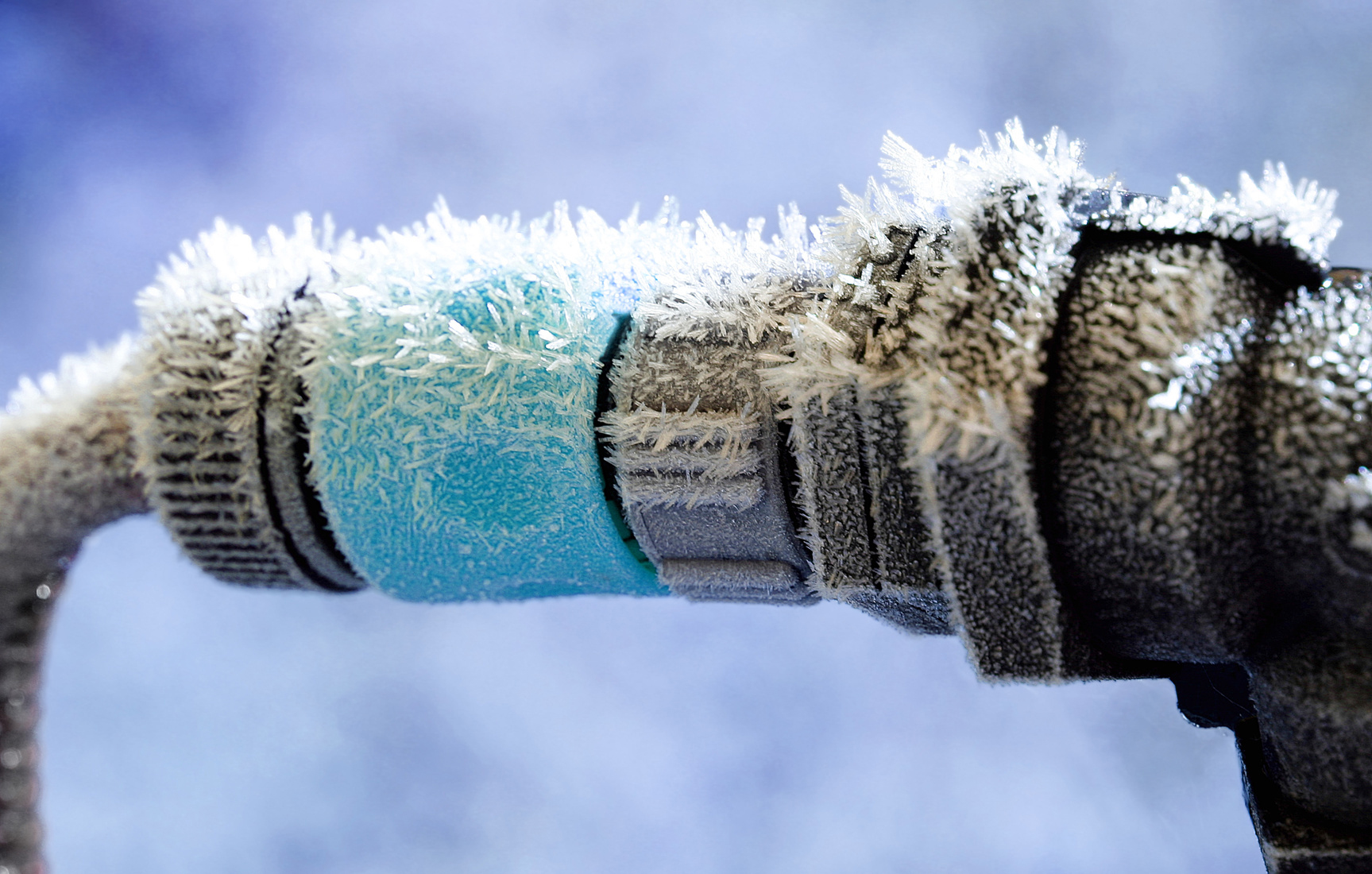 Frozen Water Connection