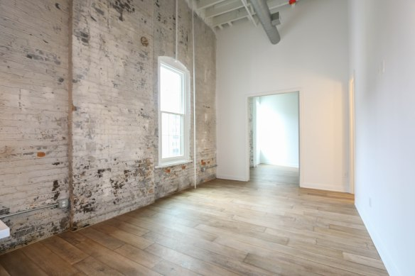 813 Broadway exposed brick