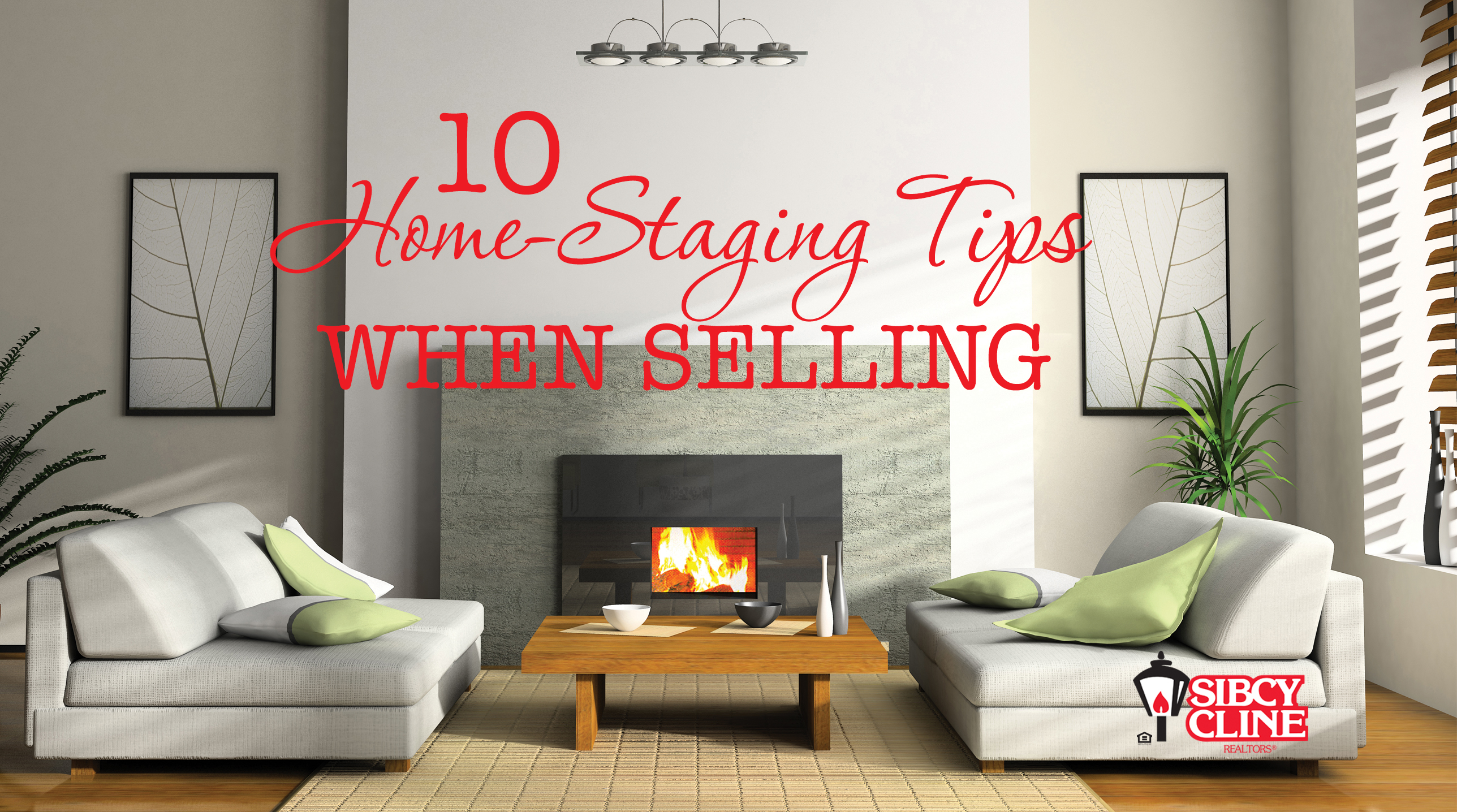 10 home-staging tips when selling
