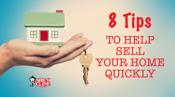 8 tips to help sell your home quickly