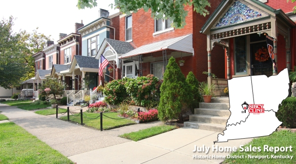 July Home Sales Report
