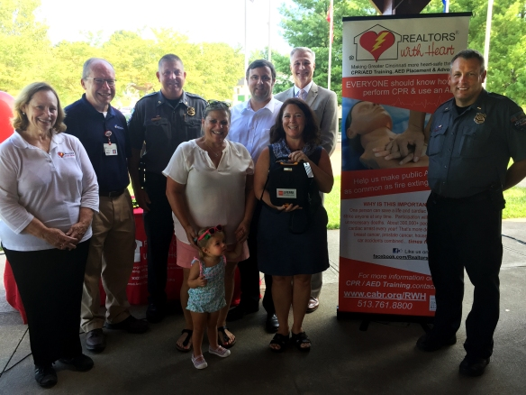 Madeira Community AED at McDonal Commons Park