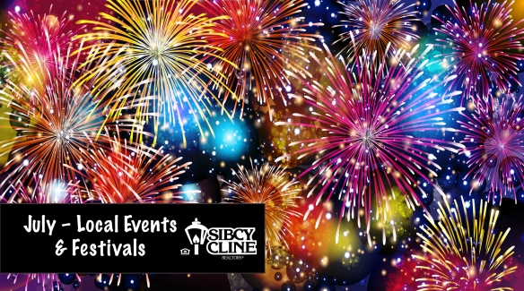 July 2019 events and festivals