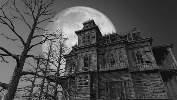 Haunted House - Full Moon