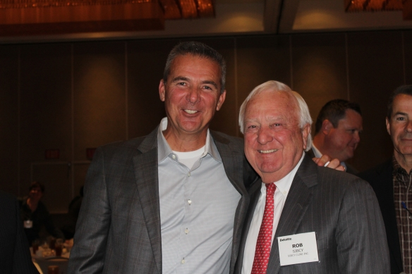 Rob Sibcy and Urban Meyer