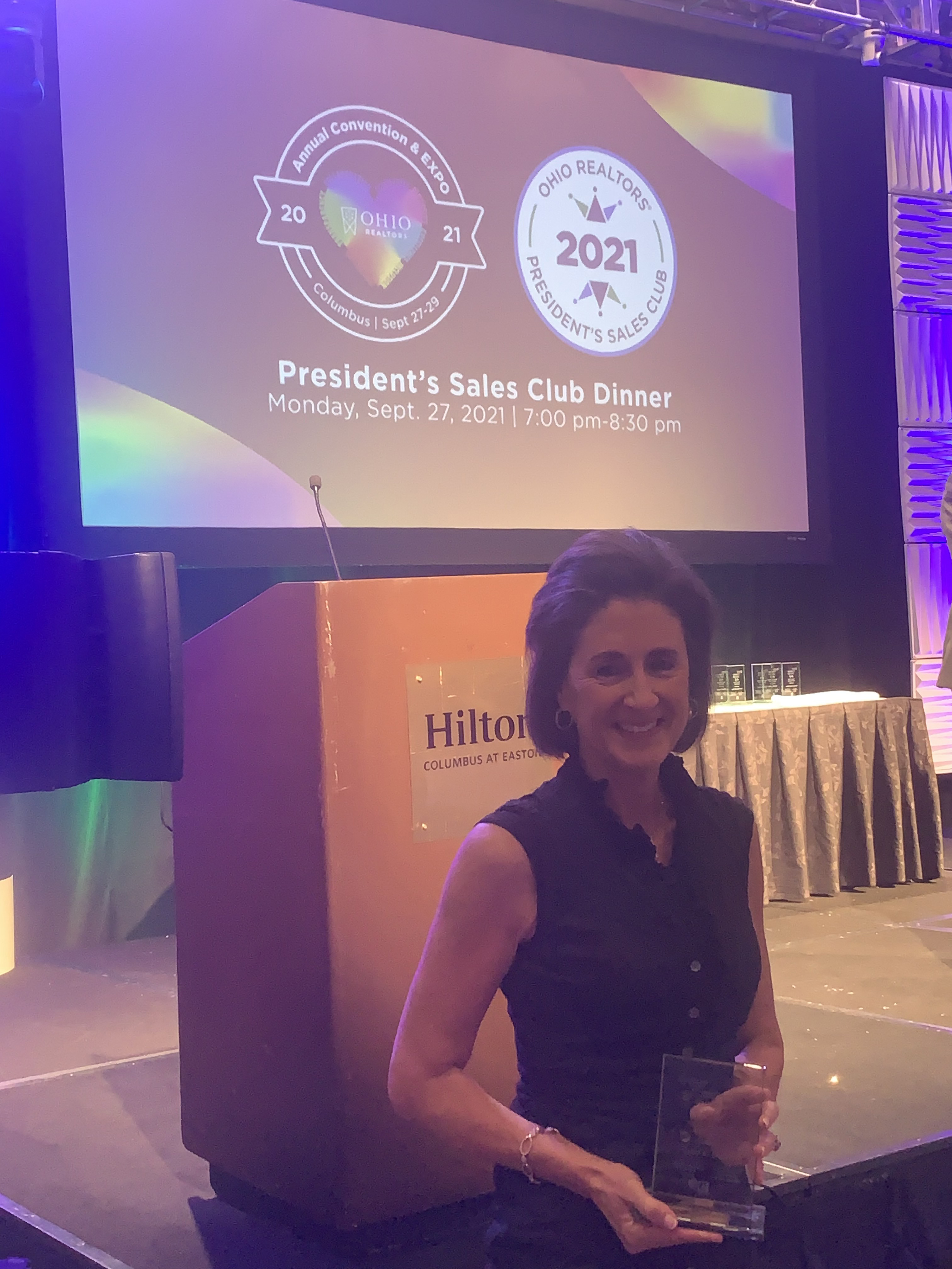Julie K Back #1 agent in Ohio 2021 Sibcy Cline Realtors